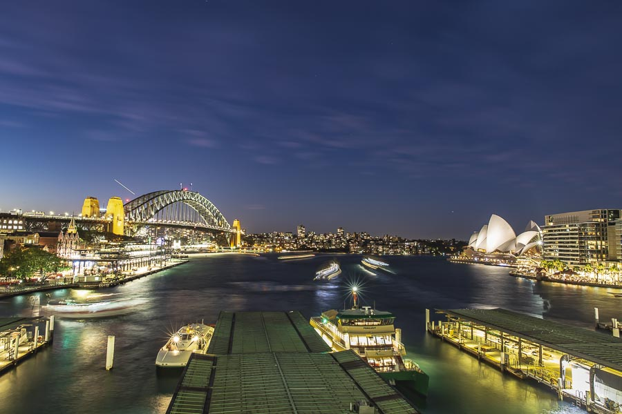 Circular Quay at Twilight